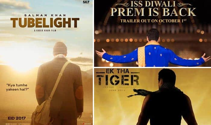 Tubelight poster looks strikingly similar to first looks of these Salman Khan films – view pics