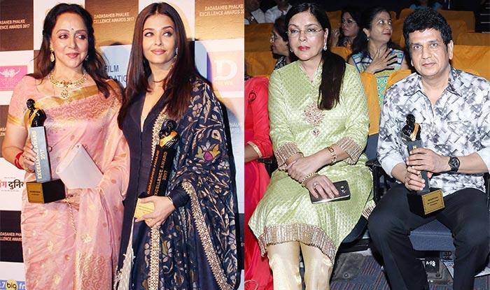 Dadasaheb Phalke Excellence Awards 2017 winners: Aishwarya Rai Bachchan, Zeenat Aman and Hema Malini win big!