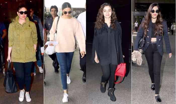 03a388e85b Celeb Airport Style This Week: Kareena Kapoor Khan, Deepika Padukone, Alia  Bhatt, Sonam Kapoor give cool travel wear lessons!