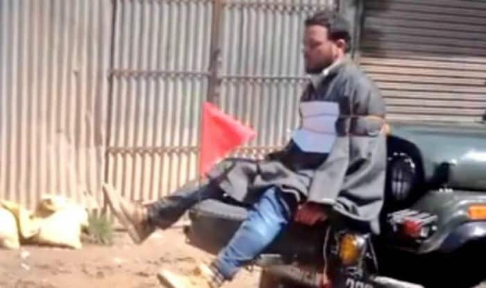 J&K Police file FIR against Army personnel over video of Kashmiri youth being tied to jeep as 'human shield'