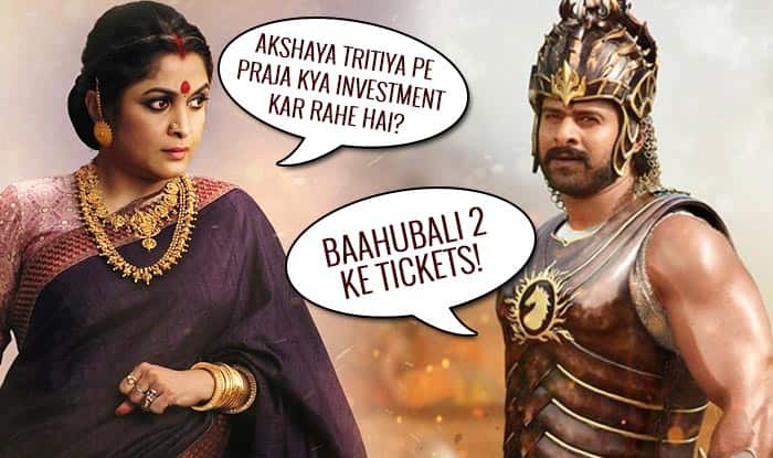 Baahubali 2 Jokes, Memes & messages flood WhatsApp and social media ahead of Bahubali: The Conclusion's movie release!