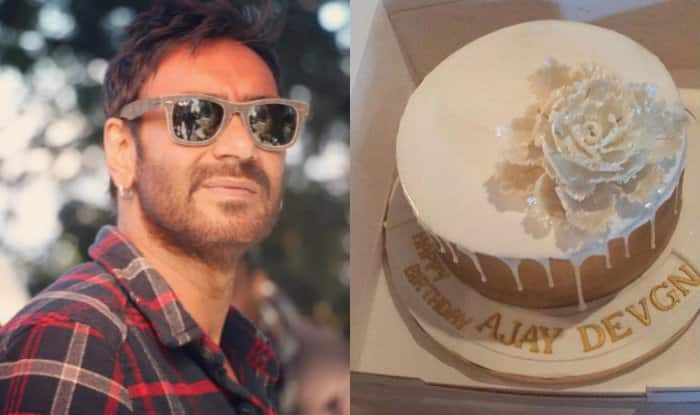 Ajay Devgn gets a delicious cake as a gift from wife Kajol! (See Pic)