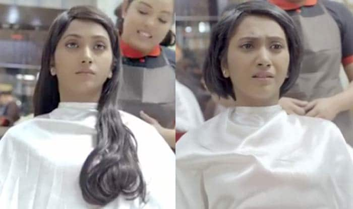 This woman cuts her beautiful long hair for a reason so disturbing you'll cry! (Watch Video)