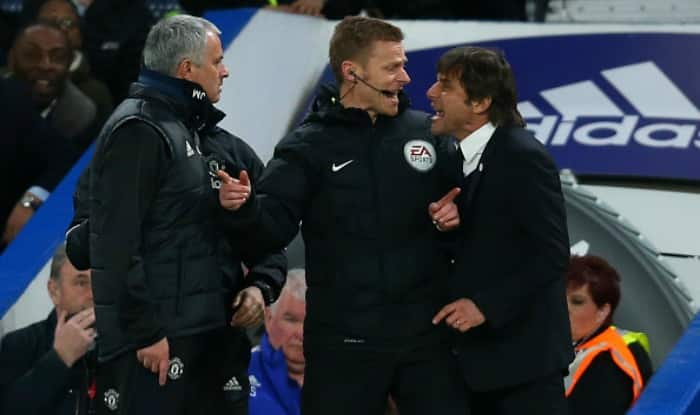 EPL 2017-18: Chelsea Manager Antonio Conte Lashes Out at Jose Mourinho, Claiming Manchester United Boss Needs to Focus on His Own Team