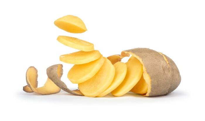 Use raw sliced potatoes on your cheeks