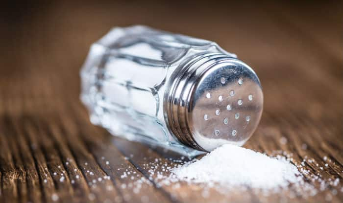 Sprinkle a little salt in your shoes
