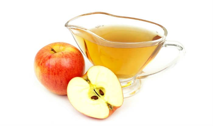 Apple cider vinegar can be used as a natural toner