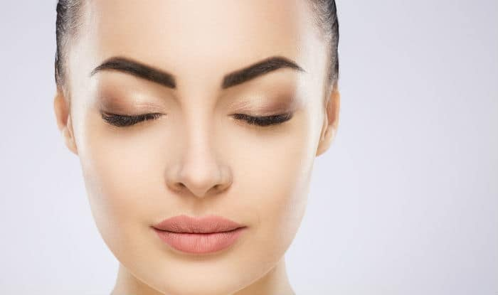Replace your brow gel with petroleum jelly