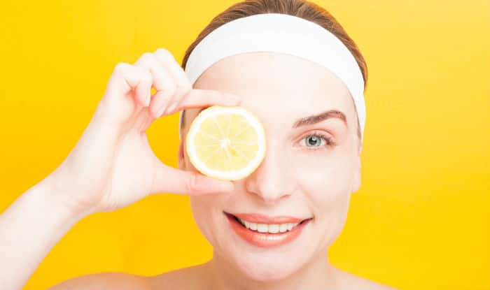 Lemon juice gives you a brighter and clean skin