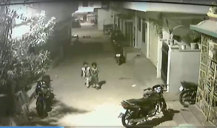 Five-year-old boy from Telangana fights off attacking dogs in viral video, shows what is bravery perfectly!