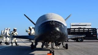 X-37B space plane returns to earth after completing 718 days on a 'secret mission'