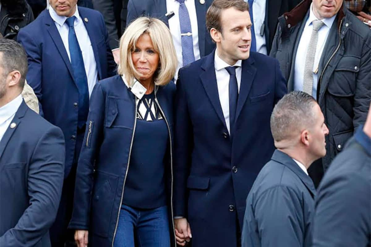 Emmanuel Macron To Be Youngest French President But The Centrist S Love Story And Wife S Age Goes Viral In India India Com