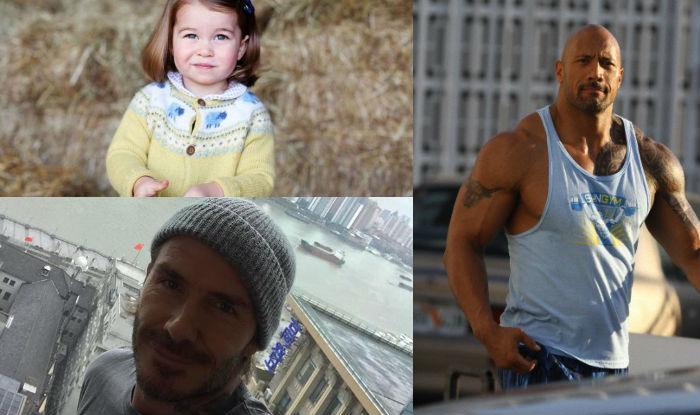 David Beckham, Dwayne Johnson, Princess Charlotte, Brian Lara: May 2 celeb birthdays