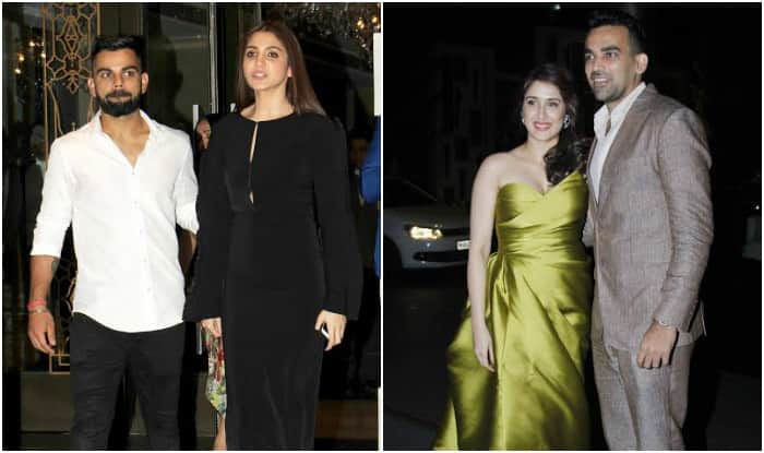 Anushka Sharma-Virat Kohli shine as a couple at Zaheer Khan-Sagarika Ghatge's engagement party (see pictures)
