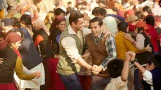 Salman Khan grooving to Tubelight song Naach Meri Jaan in this behind the scene video is a must watch!