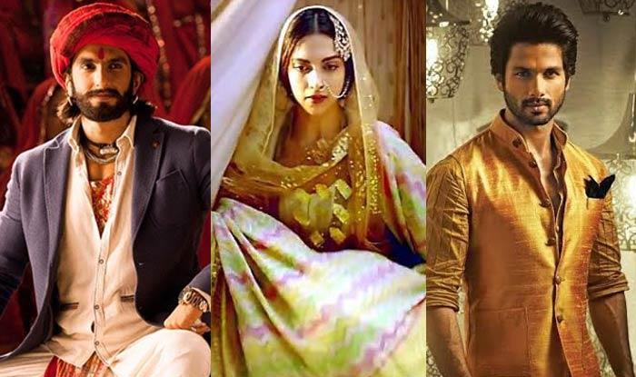 Padmavati poster: Exclusive first look at Ranveer Singh, Deepika Padukone and Shahid Kapoor's magnum opus