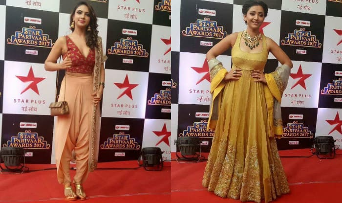 Star Parivaar Awards 2017 red carpet: Pooja Banerjee and Shweta Basu make heads turn with their stunning appearance