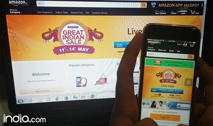 Amazon Great Indian Sale: 'Golden Hour Deals' exclusively