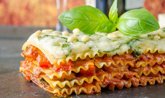 Vegetarian Lasagna from Foodhall