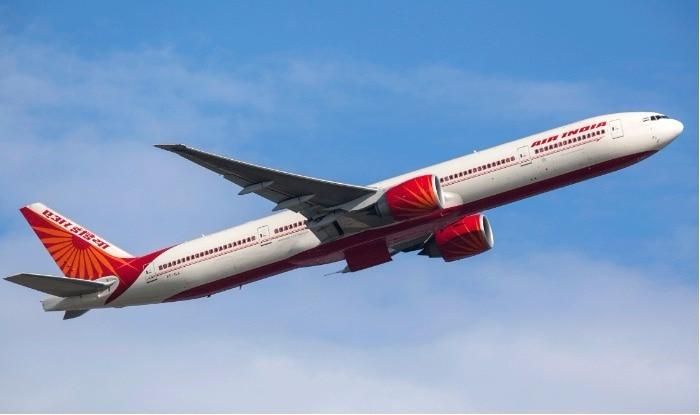 An Air India flight