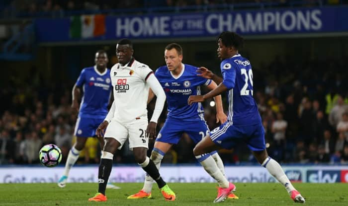 Premier League: Champions Chelsea edge out Watford in 7-goal thriller