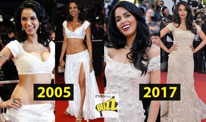 Mallika Sherawat at Cannes Film Festival 2017 is pure class, a stark transformation from cleavage show in 2005! See pictures