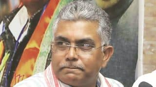 """TMC Files Complaint with EC Against BJP's Dilip Ghosh Over his """"More Cooch Behar-like Killings Possible"""" Statement"""
