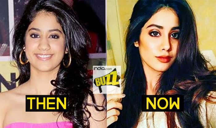 f1f6420b2e Jhanvi Kapoor gorgeous transformation: Has Sridevi's daughter got nose job  done? See before and after pictures
