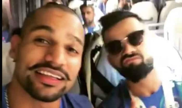 Champions Trophy 2017: Virat Kohli, Shikhar Dhawan groove to Punjabi music in team bus