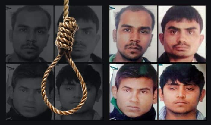 The four convicts in Nirbhaya gangrape case