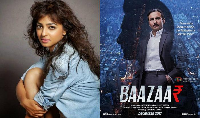 Radhika Apte to romance Saif Ali Khan in Baazaar?
