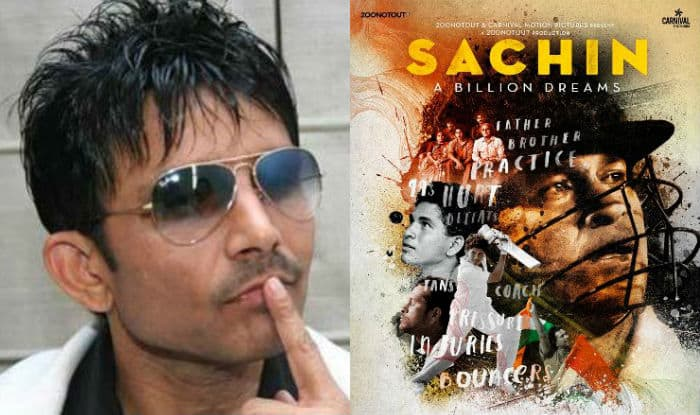 Sachin: A Billion Dreams movie reviewed by Kamaal R Khan without watching it! Tendulkar fans are threatening KRK of dire consequences on Twitter!