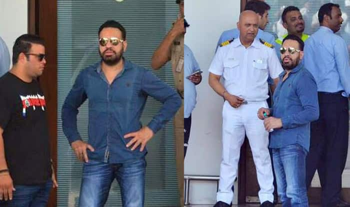 Salman Khan's bodyguard Shera peps up security for Justin Bieber's arrival (View Pics)