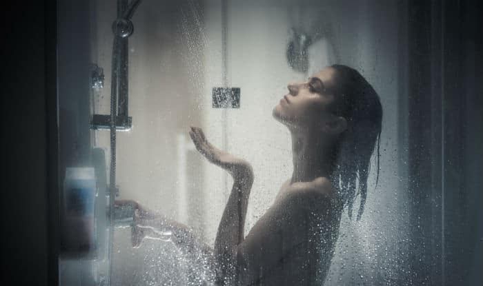 Shower twice a day
