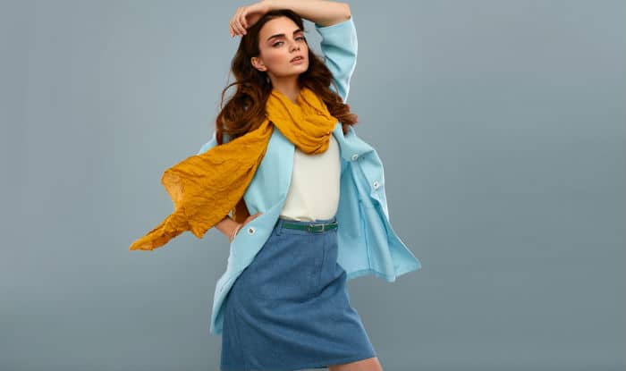 Layer up your casual wears with scarf
