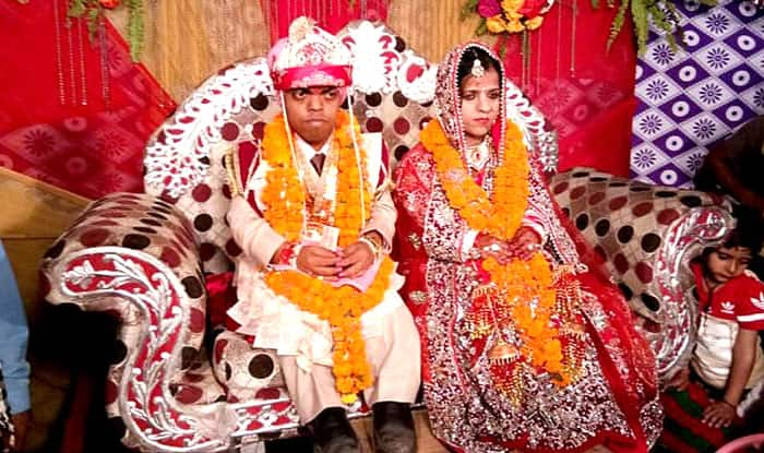 India's 'smallest couple' with a collective height of 5 feet