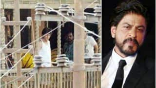 LEAKED: Shah Rukh Khan spotted shooting on the sets of Aanand L Rai's next (see picture)