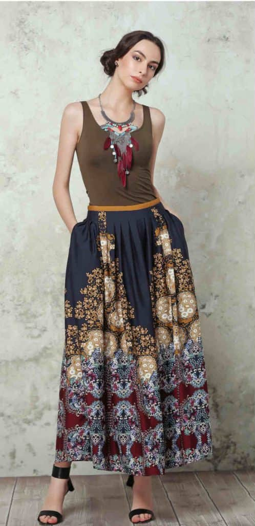 Maxi skirt(1)