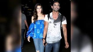 Raabta pair Sushant Singh Rajput and Kriti Sanon try hard to hide their crackling chemistry at the airport (see pictures)