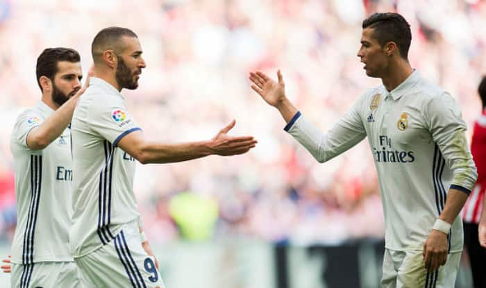 Cristiano Ronaldo is not a selfish player, says Real Madrid teammate Karim Benzema