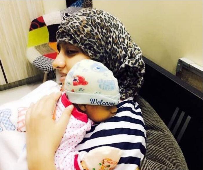 Diya Aur Baati Hum actress Deepika Singh shares the first picture of her baby boy