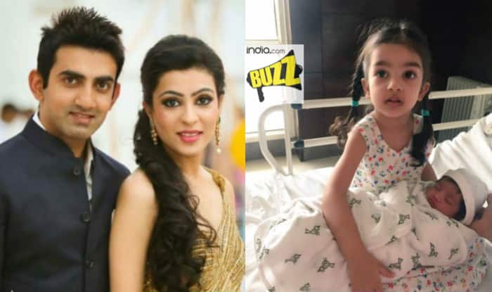 Gautam Gambhir becomes father for second time, shares picture of baby girl on Twitter