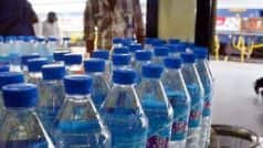 No More 1 Litre Water Bottles in Shatabdi Express? Here's Why