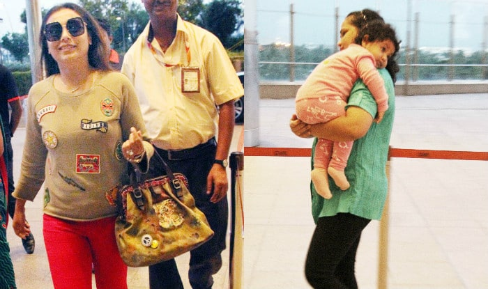 Rani Mukerji Doesn't Want Daughter Adira To Pick Up This Habit From Daddy Aditya Chopra When She Grows Up (VIDEO)