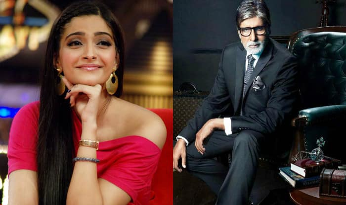 Sonam Kapoor forgets to respond to Amitabh Bachchan's message and what happened next was totally EMBARRASSING