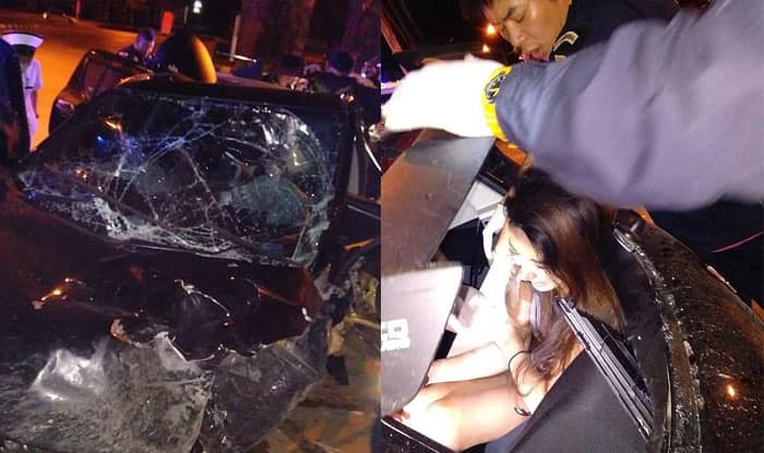Irish teacher killed in Thailand car crash was reportedly having sex in the backseat when driver lost control of the car!