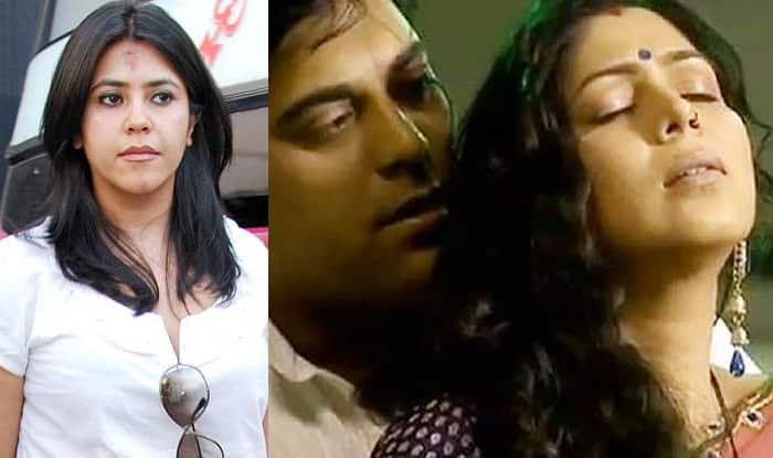 Ekta Kapoor regrets showing the lip lock between Ram Kapoor and Sakshi Tanwar in Bade Acche Lagte Hain