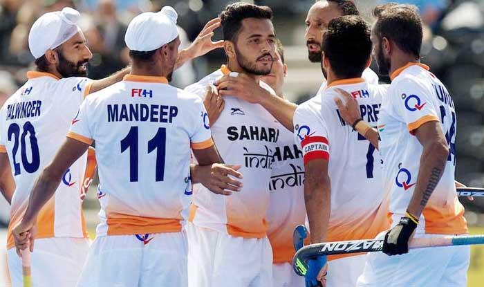 File image of Indian Hockey team.