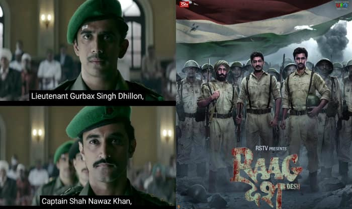 Raag Desh trailer promises us an intriguing, fascinating and gritty tale of the Red Fort trials of 1945