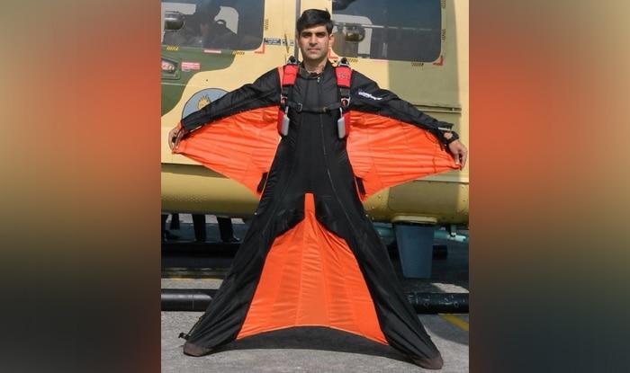 satyendra verma wingsuit